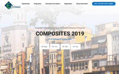 Presenting at ECCOMAS Composites 2019