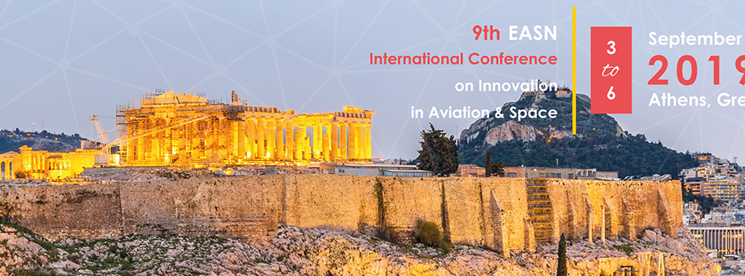 Presenting at 9th EASN International Conference on Innovation in Aviation and Space